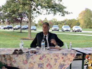 Bill Ballenger at SAABA Meeting